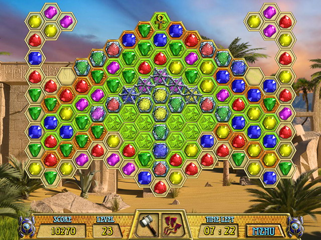 Ancient Jewels 3: Cleopatra's Treasures - Free download match3 puzzle ...